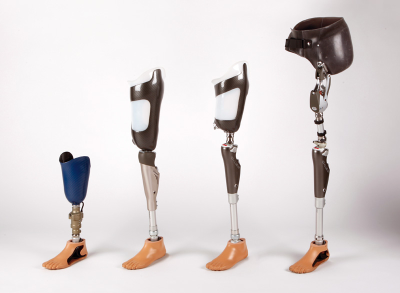 prosthetics all in one